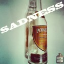 Sadness is an empty bottle of whiskey