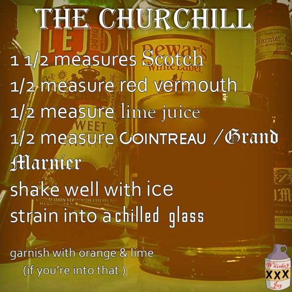 The Churchill - Scotch Cocktail Recipe