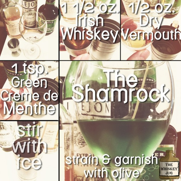 The Shamrock - Irish Whiskey Cocktail