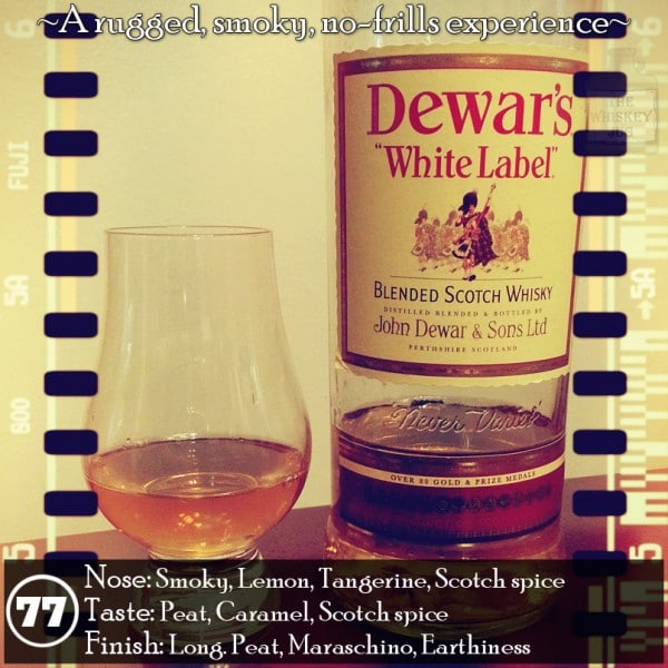 Dewars White Label Review