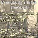 Irish Whiskey Cocktail: Everybody's Irish Cocktail