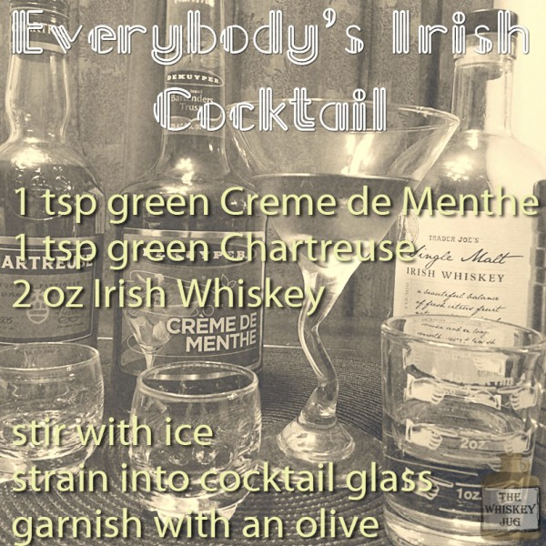 Everybodys Irish Cocktail