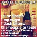 Scotch Cocktail: Scotch Royale