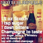 Scotch Cocktail: Scotch Royale