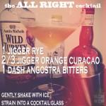 Pre-Prohibition Cocktail: All Right
