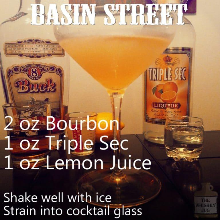 15 second Basin Street Bourbon Cocktail walkthrough