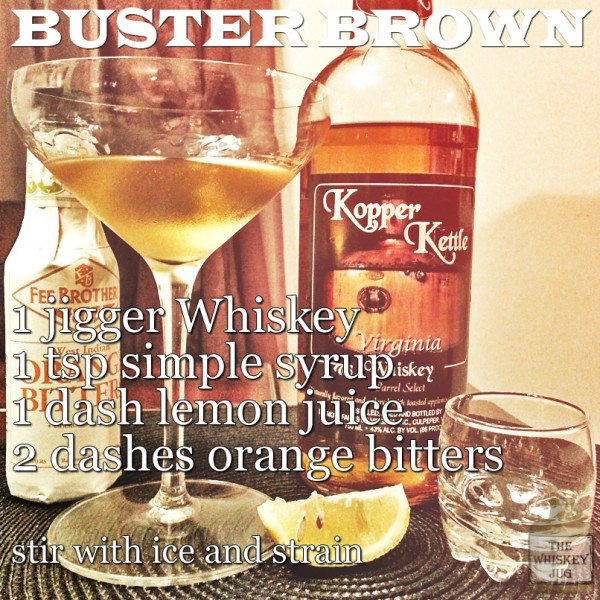 Buster Brown Cocktail