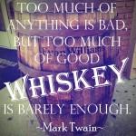 Mark Twain on Good Whiskey