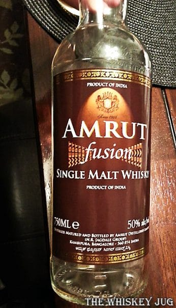 Amrut Fusion - Empty Bottle
