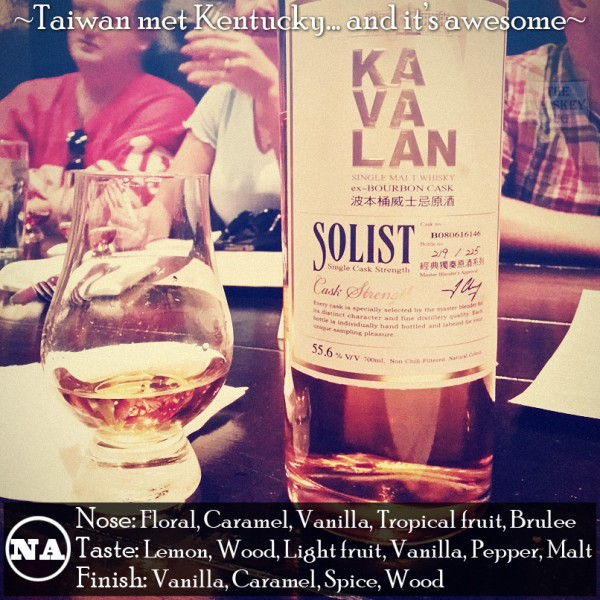 Kavalan Single Malt ex-Bourbon Cask Review