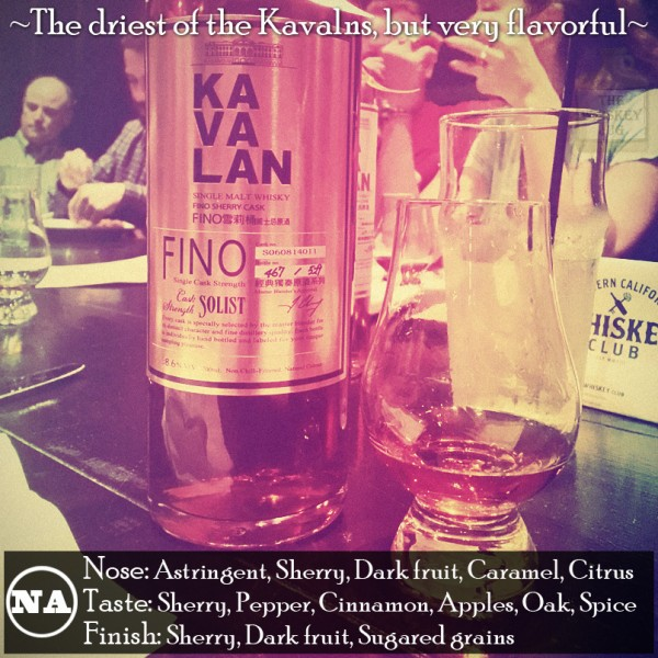 Kavalan Single Malt Solist Fino Sherry Cask Review