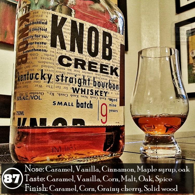 Knob Creek Small Batch Review - The Whiskey Jug