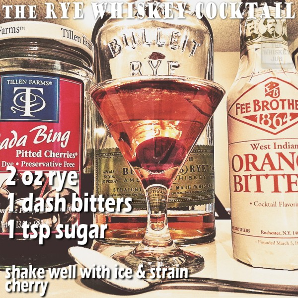 the Rye Whiskey Cocktail recipe