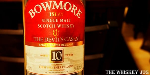 Bowmore Devil's Casks Label