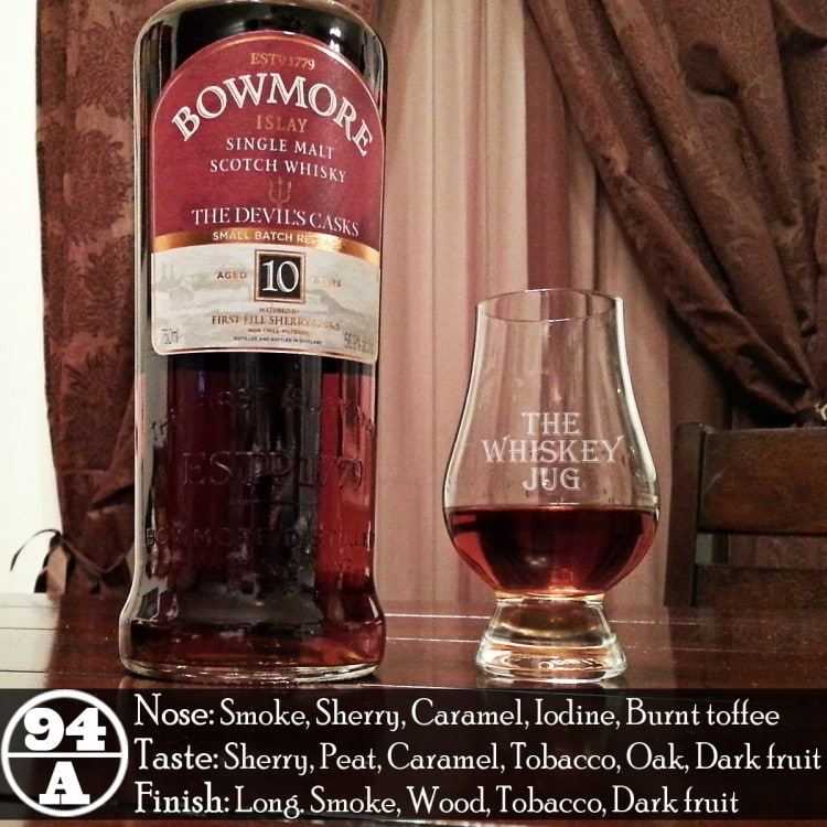 Bowmore Devil's Casks Review