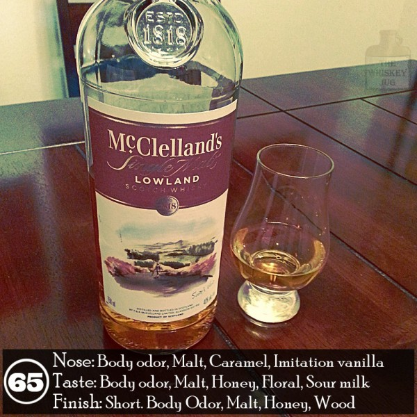 McClellands Lowland Single Malt Review 3