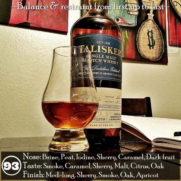 Talisker 2012 Distiller's Edition
