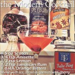 Prohibition Cocktail: the Modern Cocktail