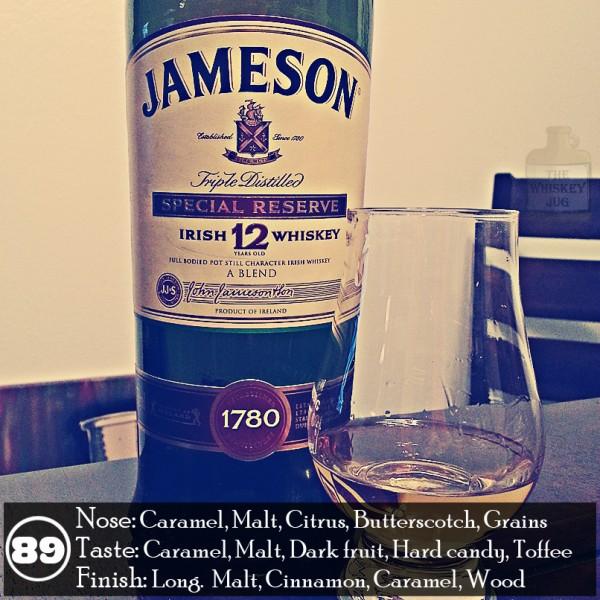 Jameson 12 year Irish Whiskey Review