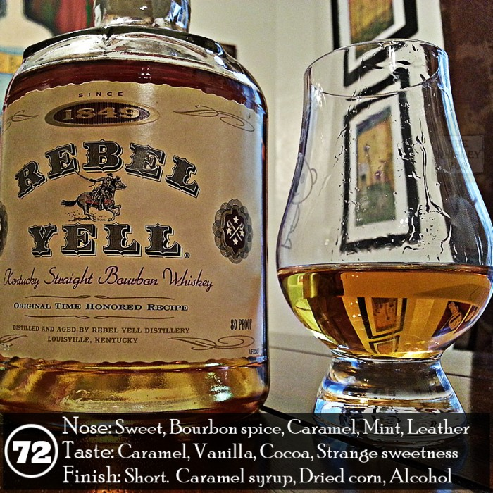 Rebel Yell Bourbon Review