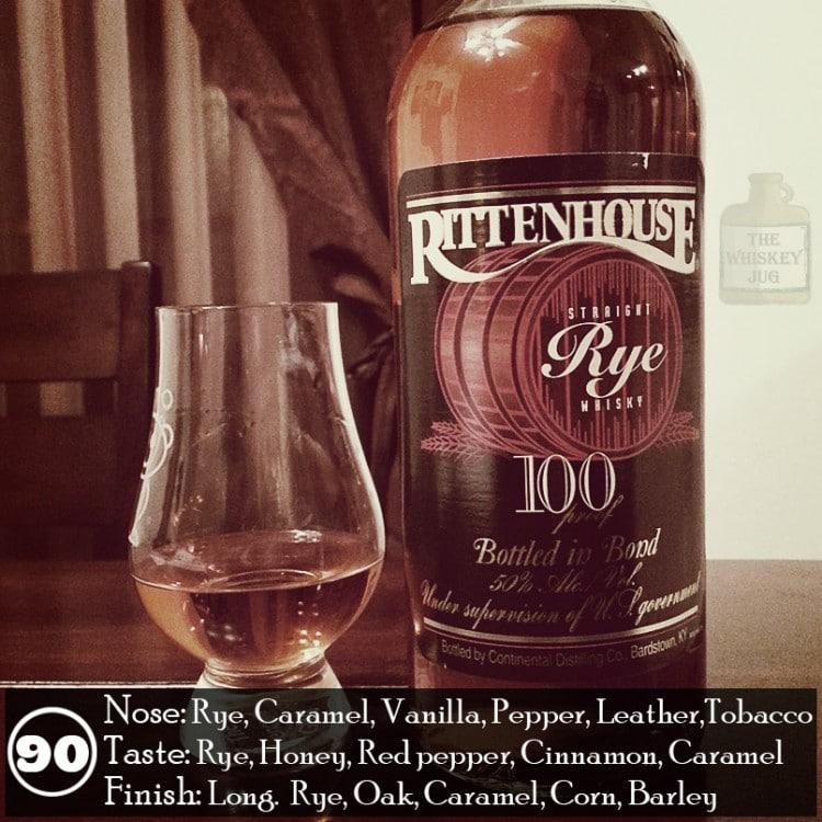 Rittenhouse Rye 100 Bottled In Bond Review
