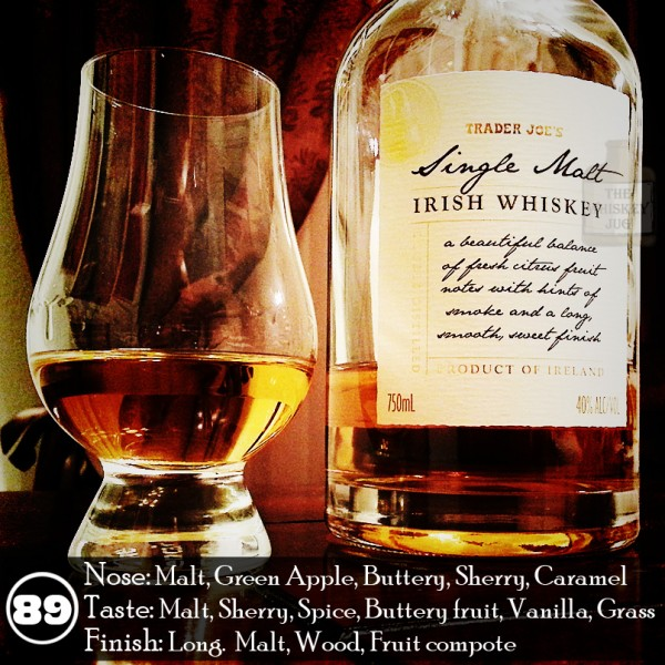 Trader Joe's Irish Single Malt Whiskey
