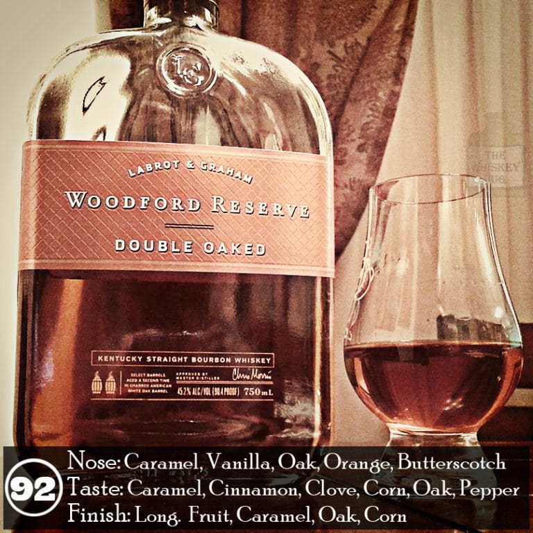 woodford reserve double oaked review the whiskey jug