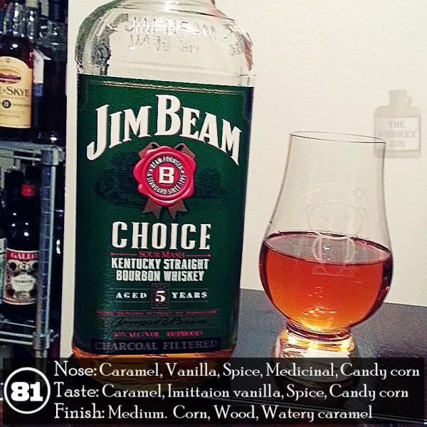 Jim Beam Choice Green Label Review
