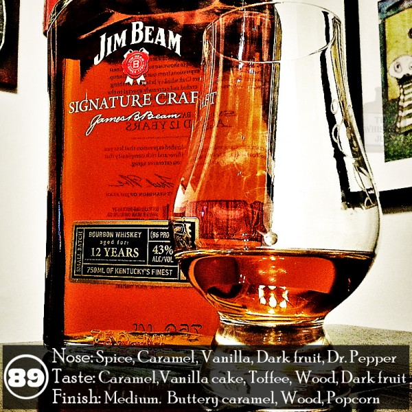 Jim Beam Signature Craft Review