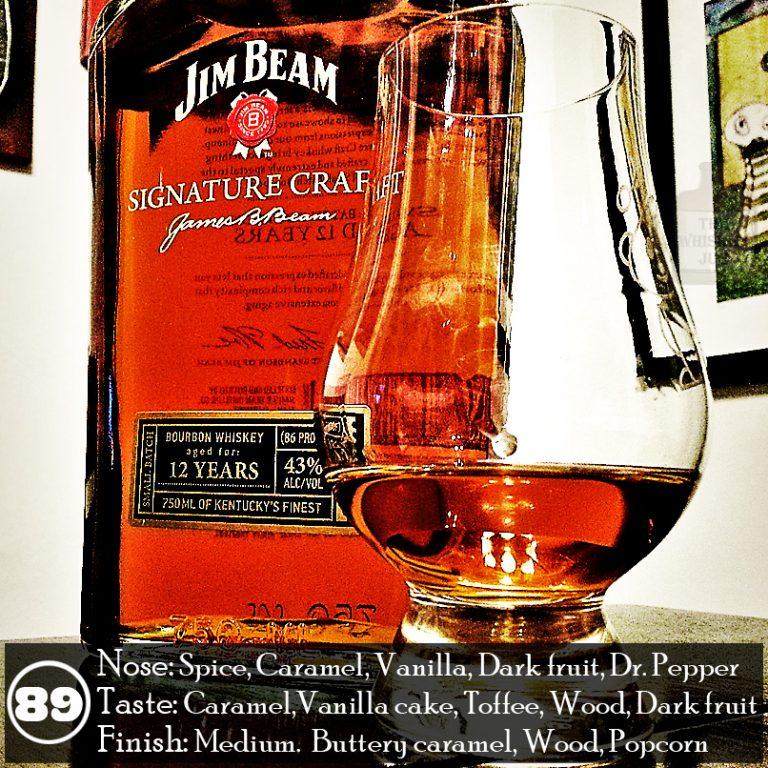 Jim Beam Signature Craft 12 Years Review The Whiskey Jug