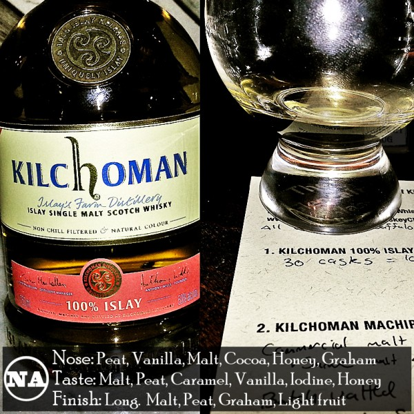 Kilchoman 100 Percent Islay Review