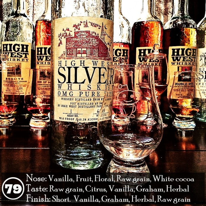 High West Silver OMG Pure Rye Review