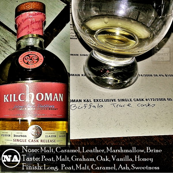 Kilchoman K and L Exclusive Single Cask 172 Review
