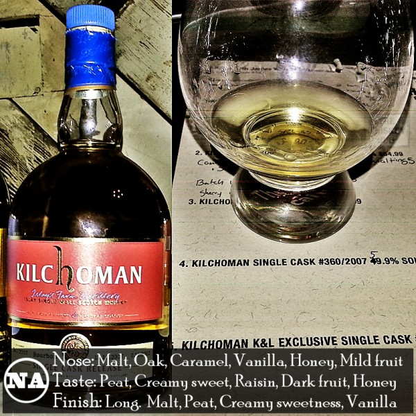 Kilchoman Single Cask 360