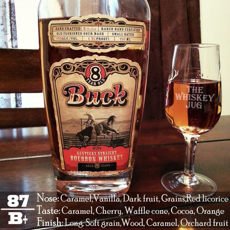 Buck 8 Years Bourbon Review