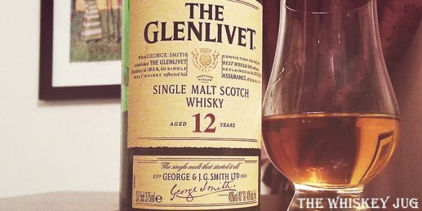Glenlivet 12 Label