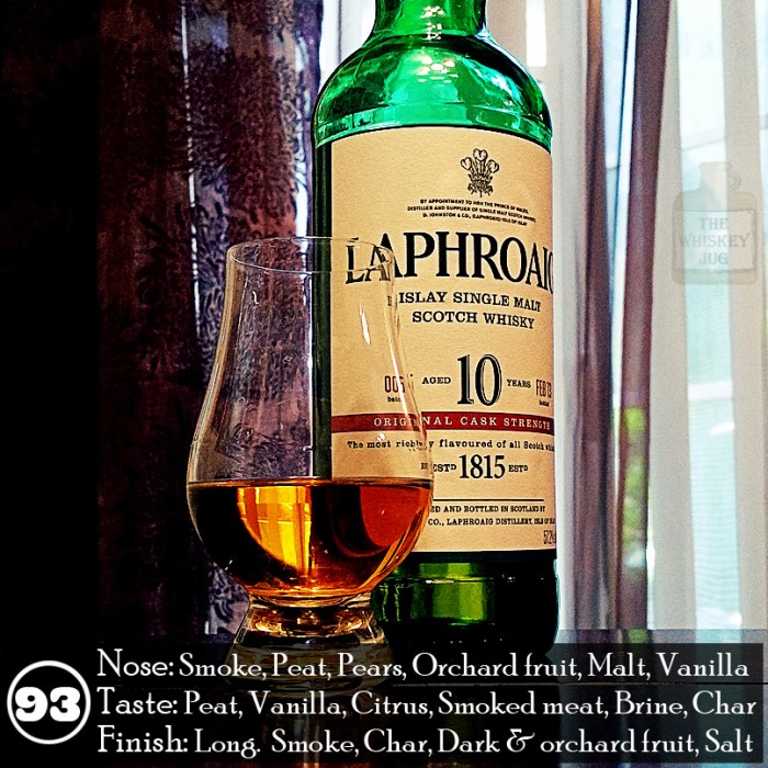 Laphroaig 10 Cask Strength Review