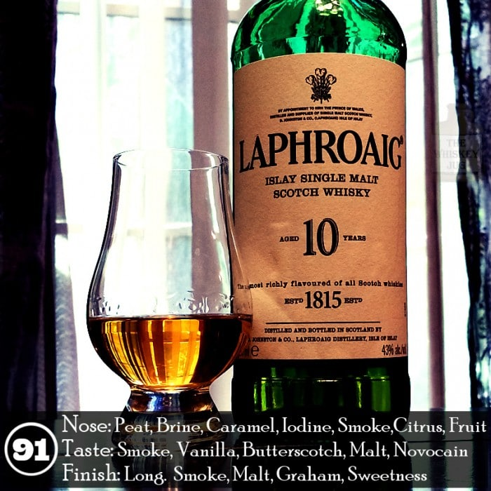 Laphroaig 10 Review