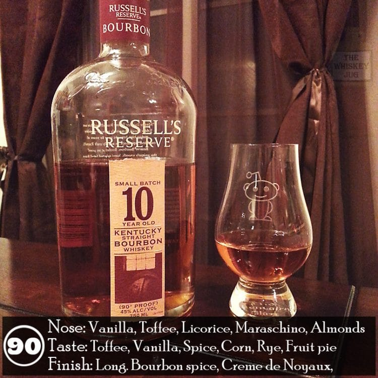 russells reserve 10 year small batch bourbon review