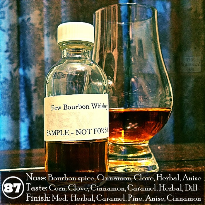FEW Bourbon Whiskey Review