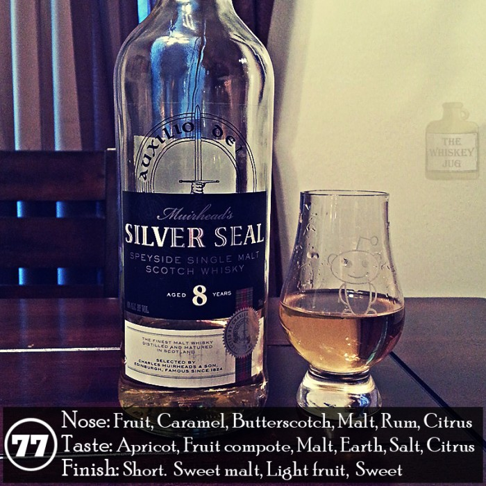 Muirhead's Silver Seal 8 Review