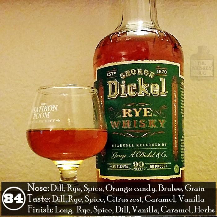 George Dickel Rye Review