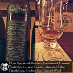 Rare Perfection 16 year Rye Review