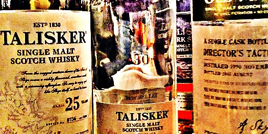 Talisker 25 30 and 16