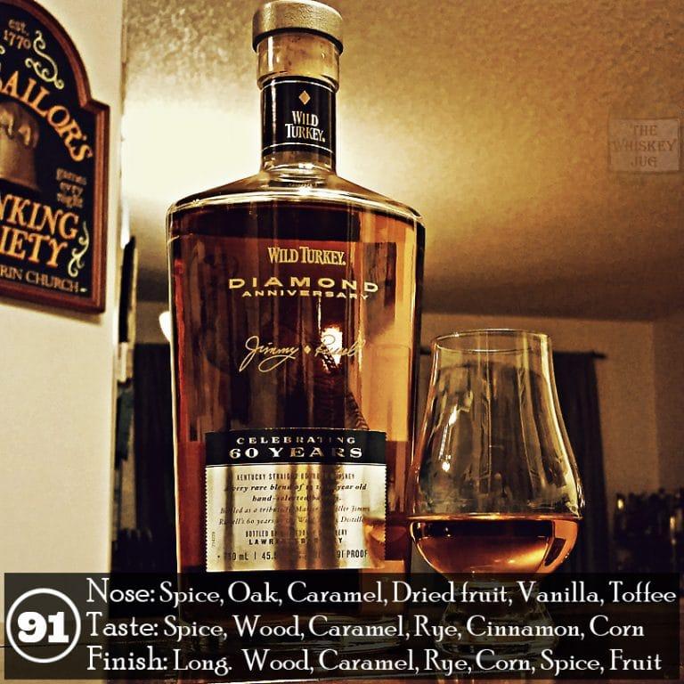 ca4f799da2a Wild Turkey Diamond Anniversary Review - The Whiskey Jug
