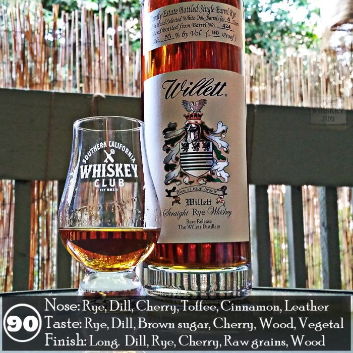 Willett 4 yr Rye Review
