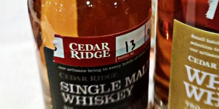 Cedar Ridge - Whisky Live Los Angeles 2014