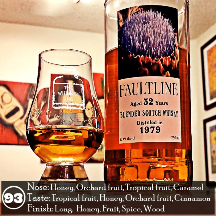 Faultline 32 yr Blended Scotch Review
