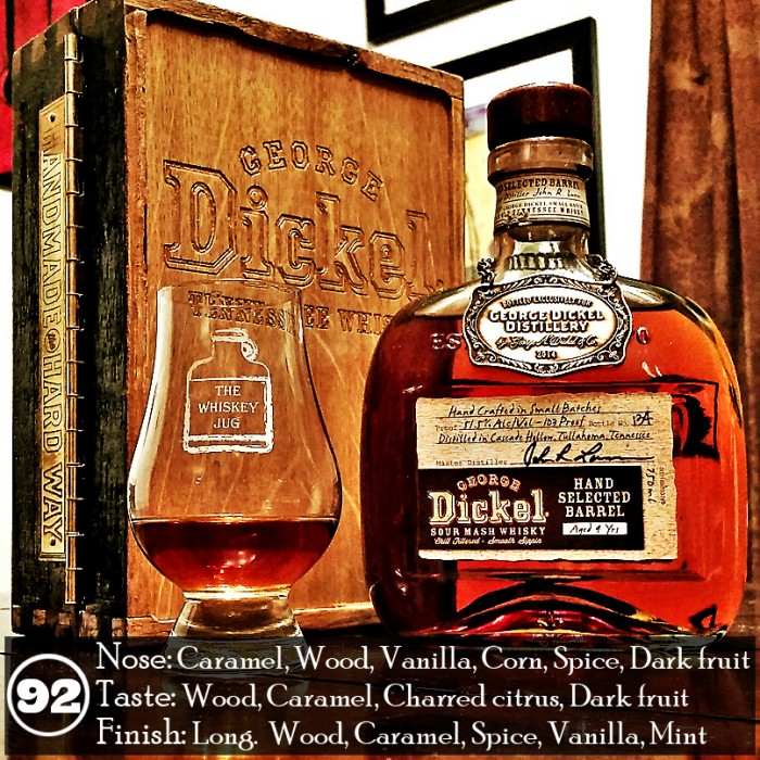 George Dickel 9 yr Single Barrel Review