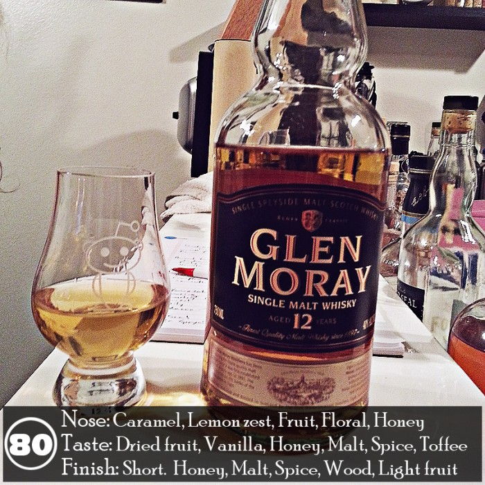 Glen Moray 12 Review